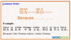 Wordoor Chinese - Grammar points # Can you try to make a sentence using this pattern?