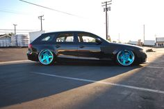 Audi A6 Avant on Rotiforms