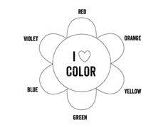 Printable Color Wheel - Mr Printables