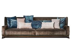3 seater high-back fabric sofa 430 OPERA | 3 seater sofa - Vibieffe