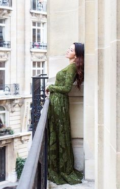 Tina Leung in Elie Saab by Carin Olsson