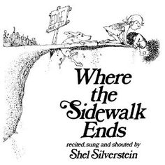 Where the Sidewalk Ends by Shel Silverstein has always been one of those books that as a kid I remember.  I loved poems, especially ones that were funny and that as a kid I understood!!! I highly recommend buying this book just to read yourself or to have for your kid(s).