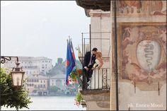 wedding Lake Orta, Italy