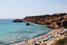 Places: Der Cotton Beach Club – Cala Tarida auf Ibiza