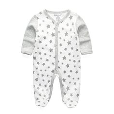 dde368fcac1c 2018 New Children pajamas baby rompers newborn baby clothes long sleeve  underwear cotton costume boys girls