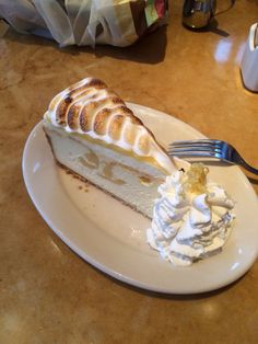 Cheesecake Factory lemon meringue cheesecake