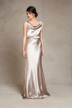 Metallic bridesmaid dresses 'Madelyn' by Jenny Yoo