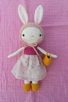 Das weiße Kaninchen Ref: Jeanne von lepetitemoon auf Etsy