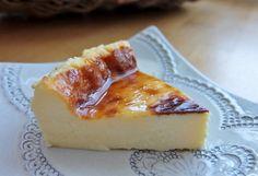 自家製チーズでチーズケーキ cheese cake