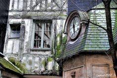 - Passage de la Petite Horloge Les Themes, Rouen, Hui, France, Normandie, Clock, French