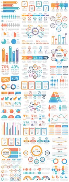 Infographic Elements Bundle - #Infographics