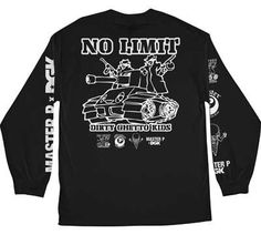 DGK X NO LIMIT 8-BALL LONG SLEEVE