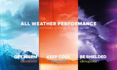 From high-performance moisture-wicking to breakthrough breathability and smart fabrics that adjust to the demands of your body, we keep you going strong in all weather conditions.