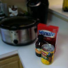 Musings of a Mommy: Hawai'ian Chicken-AKA Cheap, Easy, Delish Dish in a Crockpot!