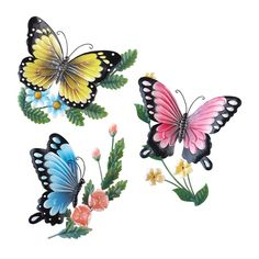 metal butterfly wall art is truly adorable, cute and trendy. Metal butterfly home wall art decor is absolutely lovely and very trendy currently. Metal Butterfly Wall Art, Butterfly Room, Butterfly Wall Decor, Metal Tree Wall Art, Metal Art, Butterfly Artwork, Butterfly Decorations, Butterfly Tattoos, Flower Wall