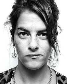Tracey Emin, Young British Artist (YBA), whose work examines topics such as rape and abortion, and celebrates female relationships.