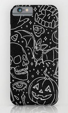 Halloween Horrors phone case by Corinne Alexandra