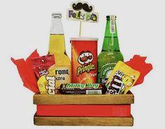 Gift Baskets For Him, Food Gift Baskets, Diy Food Gifts, Gourmet Gifts, Best Dad Gifts, Love Gifts, Candy Gifts, Jar Gifts, Alcohol Basket