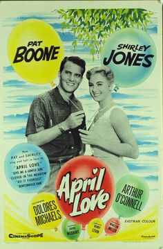 April Love (1957).  When my mom was a teen she loved Pat Boone and was so excited this movie was being filmed down the road, in Lexington (she was from Owenton, KY).