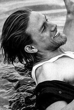 Charlie Hunnam -- love this shot! More