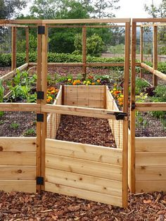 Raised Cedar Garden Bed with Deer Fence design Outdoor Living Raise. - Raised Cedar Garden Bed with Deer Fence design Outdoor Living Raised Garden Bed x - Metal Raised Garden Beds, Raised Beds, Raised Bed Gardens, Raised Flower Beds, Raised Garden Bed Plans, Raised Garden Bed Design, Raised Planter, Building Raised Garden Beds, Raised Herb Garden