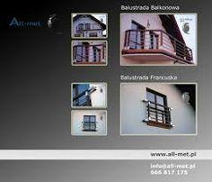 Balustrady ze stali nierdzewnej na balkon schody i taras. www.all-met.pl