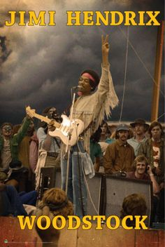 - Jimi Hendrix Poster -