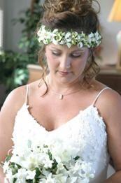 lei and haku from Hawaii | Haiku Gardens Wedding and Reception Floral list