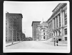 Chattanooga Municipal Building, Custom House and Hotel Patten on E. 11th Street, abt. 1900