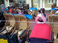 strollers, magic kingdom, walt disney world