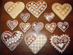 Medovníčky recipe http://www.slovakcooking.com/2010/recipes/decorated-honey-cookies-medovniky/