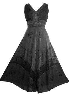 #Gothic  Renaissance Dress Gown: Clothing