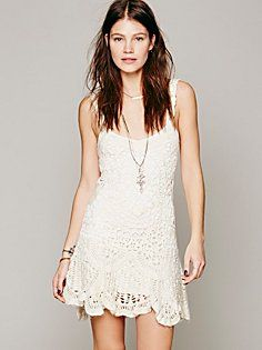 Radiance Crochet Vestido