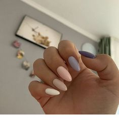 Beautiful colors for nails - ChicLadies.uk - Beautiful colors for nails – ChicLadies.uk Beautiful colors for nails – ChicLadies. Almond Acrylic Nails, Summer Acrylic Nails, Best Acrylic Nails, Almond Nails, Acrylic Art, Aycrlic Nails, Cute Nails, Pretty Nails, Coffin Nails