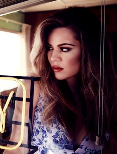 My style icon. The person who inspires me to be better. Someone I adore and admire. Khloe Alexandra Kardashian-Odom