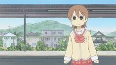 Nichijou Gifs, Otaku, Random Gif, Kyoto Animation, Nichijou, Anime Gifts, Bungou Stray Dogs, Anime Shows, Anime Love