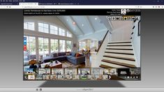 How do you present your Matterport models? The real estate marketing platform supports Matterport in its virtual tours. Log Homes For Sale, Modern Family House, Charming House, Dream House Exterior, Real Estate Photography, Cottage Homes, Modern Room, Virtual Tour, Porch Decorating