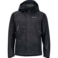 Marmot Spire Jacket ($400) ❤ liked on Polyvore featuring men's fashion, men's clothing, men's activewear, men's activewear jackets and mens activewear