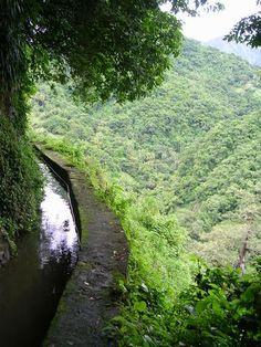 """Canal dit """"des esclaves"""". Martinique."""