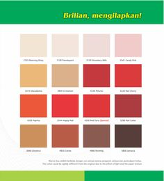 A touch of red adds life in your home interior design. BRILLO, wood & metal paint, has many colors of red, from the romantic Candy Pink, passionate Red Cherry, and earthy Cocoa.  Pick your favorite! BRILLO, Brilian Mengkilapkan. #homedesign #housedesign #homedecor #housedecor #interiordesign #homeexterior #houseexterior #wallpaint