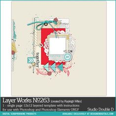 Layer Works No. 263- Studio Double-D Templates- LT446676- DesignerDigitals