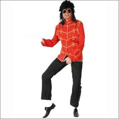 Disfraz Chaqueta Michael Jackson