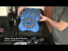 Aikiou Dog Bowl Review  THIS LOOKS LIKE THE BEST DOG BOWL TO SLOW DOWN EATING.