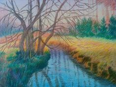Colored pencil copy by hamid-reza Rahimkhani. Original by Pat avril.