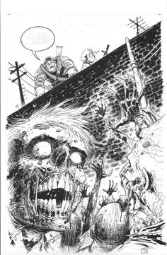 The Walking Dead/ Every Night I have the Same Dream (front) Comic Art