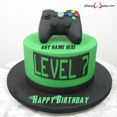 Video Game Geburtstagstorte You are in the right place about Birthday Cake blue Here we offer you the most beautiful pictures about the Birthday Cake rainbow you are looking for. When you examine the Playstation Cake, Xbox Cake, Xbox Party, Video Game Cakes, Video Game Party, Video Games, Bolo Xbox, Birthday Cake Video, Roblox Birthday Cake
