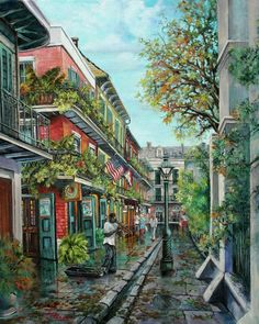 Alley Jazz by Dianne Parks