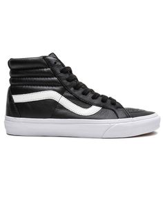 62468f75be VANS - PREMIUM LEATHER SK8-HI REISSUE (BLACK)