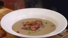 Gazpacho, Cheeseburger Chowder, Thai Red Curry, Soup, Ethnic Recipes, Soups