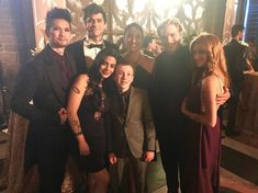 Behind the scenes of wedding. Isabelle Lightwood, Jace Lightwood, Clary And Jace, Clary Fray, Shadowhunters Tv Series, Dominic Sherwood, Cassandra Clare Books, Clace, The Dark Artifices